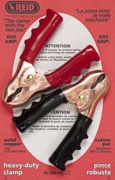 pinces 600PN, 600PN clamps,reid electric, Pince industrielle, industrial clamp, booster clamp, booster, clamps, copper clamp, pince, survolteur