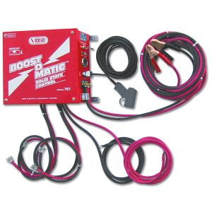 Booster, survolteur, Reid Electric, Jump Start, jump starting, SP74, Battery Pack, Revolt, Boostomatic, jumper cables, jumping, cables a survolteur